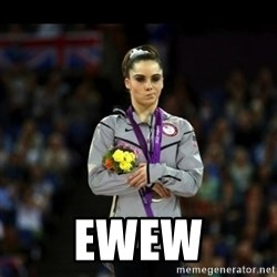Unimpressed McKayla Maroney - ewew