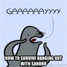 GAAAY - How to survive hanging out with Sandrú