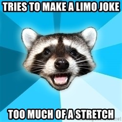 Lame Pun Coon - Tries to make a limo joke Too much of a stretch