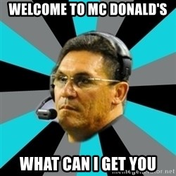 Stoic Ron - WELCOME TO MC DONALD'S  WHAT CAN I GET YOU