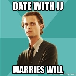spencer reid - Date with jj marries will