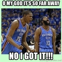 durant harden - O MY GOD IT'S SO FAR AWAY NO I GOT IT!!!