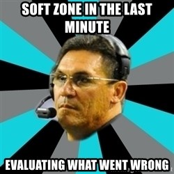 Stoic Ron - Soft zone in the last minute evaluating what went wrong