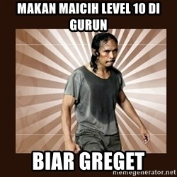 MadDog (The Raid) - MAKAN MAICIH LEVEL 10 DI GURUN BIAR GREGET
