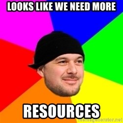 King Kool Savas - LOOKS LIKE WE NEED MORE RESOURCES