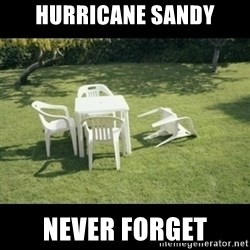 Never Forget Earthquake - Hurricane Sandy never forget