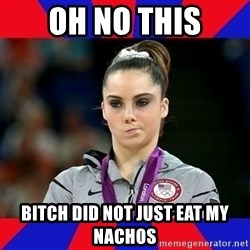 Mckayla Maroney Does Not Approve - Oh no this bitch did not just eat my nachos