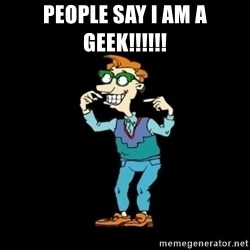 Drew Pickles: The Gayest Man In The World - PEOPLE SAY I AM A GEEK!!!!!!