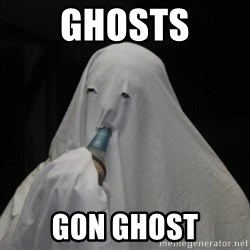Poverty Ghost - Ghosts Gon Ghost
