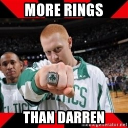Brian Scalabrine (White Mamba) - More rings Than darren