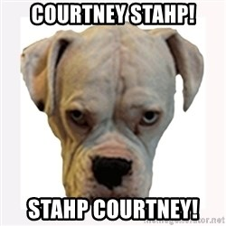 stahp guise - COURTNEY STAHP! STAHP COURTNEY!