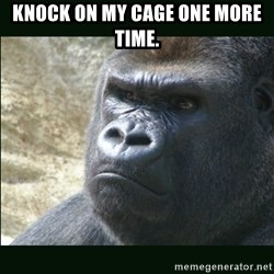 Rustled Jimmies - KNOCK ON MY CAGE ONE MORE TIME.
