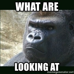 Rustled Jimmies - WHAT ARE  LOOKING AT