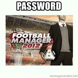 football manager 2013 - password