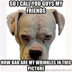 stahp guise - SO I CALL YOU GUYS MY FRIENDS HOW BAD ARE MY WRINKLES IN THIS PICTURE