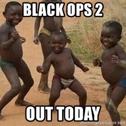 african children dancing - BLACK OPS 2 OUT TODAY