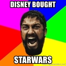 sparta - disney bought starwars