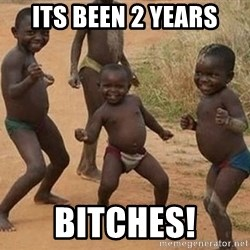 Dancing African Kid - ITS BEEN 2 YEARS BITCHES!