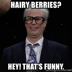 Harry Caray Will Ferrel - Hairy berries? HEY! that's funny.