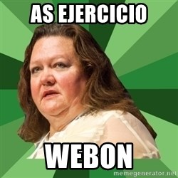 Dumb Whore Gina Rinehart - AS EJERCICIO WEBON
