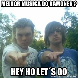 god of punk rock - melhor musica do ramones ? hey ho let´s go