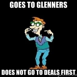 Drew Pickles: The Gayest Man In The World - GOES TO GLENNERS DOES NOT GO TO DEALS FIRST