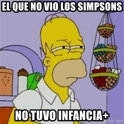 Simpsons' Homer - el que no vio los simpsons no tuvo infancia+