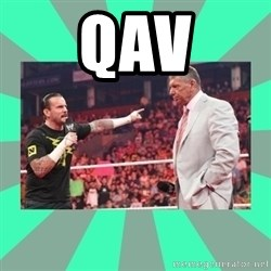 CM Punk Apologize! - QAV