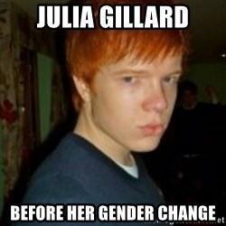 Flame_haired_Poser - Julia Gillard before her gender change