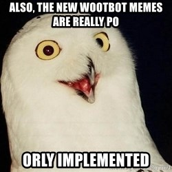 Orly Owl - also, the new wootbot memes are really po orly implemented