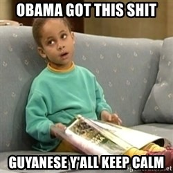 Olivia Cosby Show - Obama got this shit Guyanese y'all keep calm