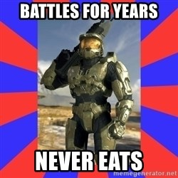 Halo Logic - battles for years never eats