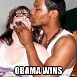 Scared White Girl - OBAMA WINS