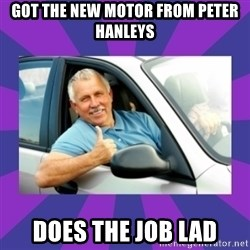 Perfect Driver - Got the new motor from peter hanleys does the job lad