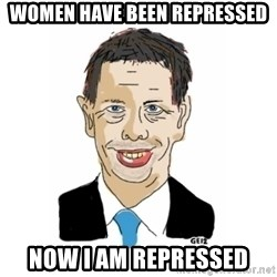 Vita Kränkta Mannen - women have been repressed Now i am repressed