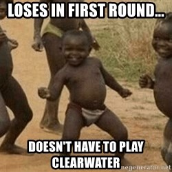 Success African Kid - LOSES IN FIRST ROUND... DOESN'T HAVE TO PLAY CLEARWATER