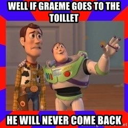 Everywhere - well if graeme goes to the toillet he will never come back