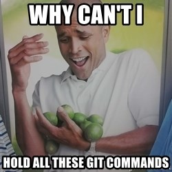 Limes Guy - Why can't i  hold all these git commands
