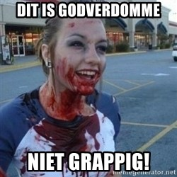 Scary Nympho - DIT IS GODVERDOMME NIET GRAPPIG!