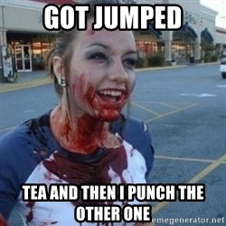 Scary Nympho - GOT JUMPED TEA AND THEN I PUNCH THE OTHER ONE