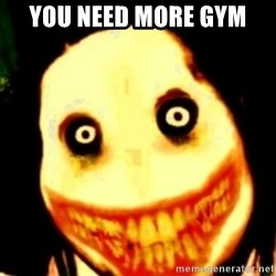 Tipical dream - YOU NEED MORE GYM