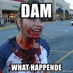 Scary Nympho - DAM WHAT HAPPENDE