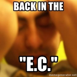 """ANDRES INFANTE - back in the  """"e.c."""""""