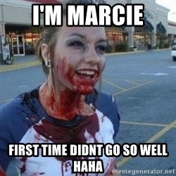 Scary Nympho - I'M MARCIE  FIRST TIME DIDNT GO SO WELL HAHA