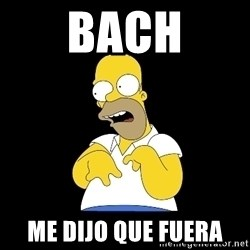 look-marge - BACH ME DIJO QUE FUERA
