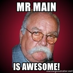 Wilford Brimley Diabeetus Guy - MR MAIN IS AWESOME!