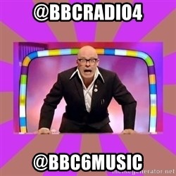 Harry Hill Fight - @BBCRadio4 @BBC6Music