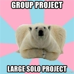 Perfection Polar Bear - Group project large solo project