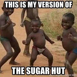 african children dancing - this is my version of  the sugar hut
