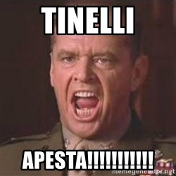 Jack Nicholson - You can't handle the truth! - TINELLI APESTA!!!!!!!!!!!